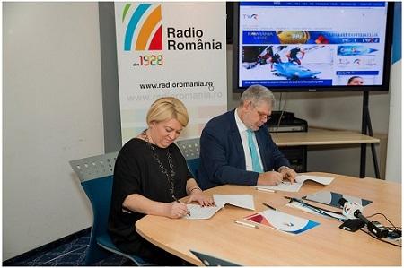 Acord cadru de colaborare între Radio România şi TVR