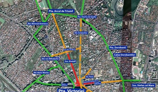 traficul-rutier-restrictionat-temporar-in-mai-multe-zone-din-bucuresti