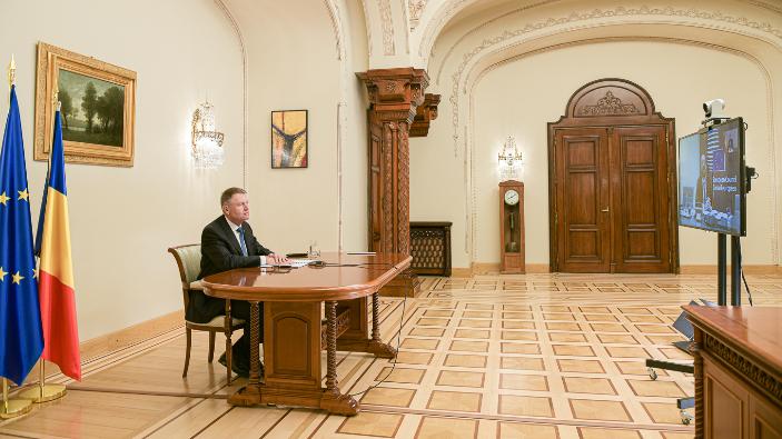 iohannis-participa-la-videoconferinta-membrilor-consiliului-european-covid