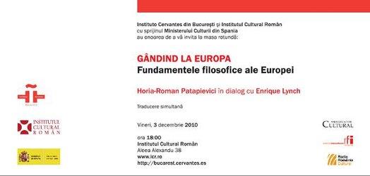 art 88911 afis Conferinţele Enrique Lynch în România