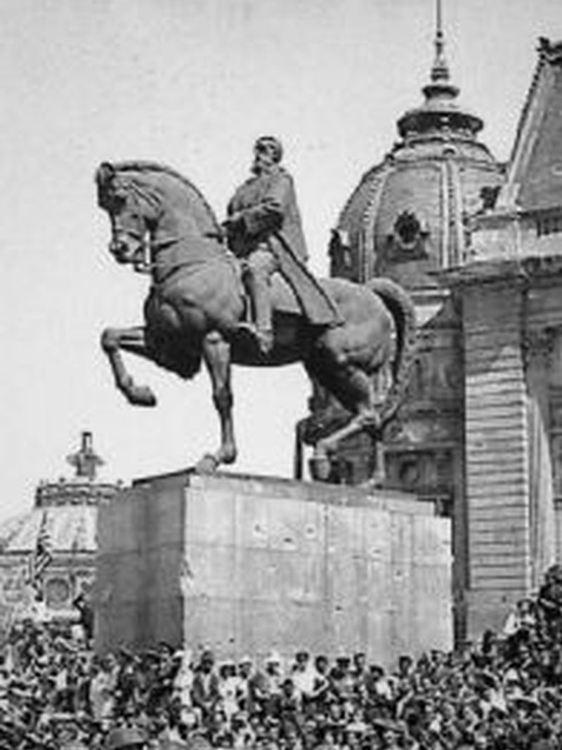 Cuvântarea M.S. Regelui Carol II cu ocazia dezvelirii statuii Regelui Carol I (1939)