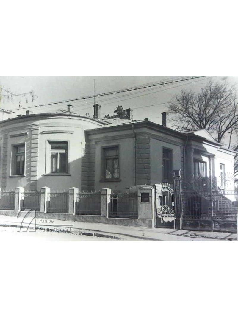 Clădirea postului Radio Moldova, de la Iași - imagine de ansamblu (1941)