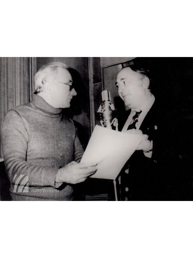 Gheorghe Cozorici și regizorul Dan Puican