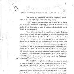 """""""Universitatea Radio"""". Alice Voinescu - Sufletul românesc în pictura lui Grigorescu (1934)"""