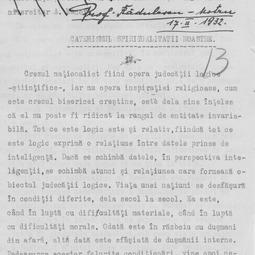"""""""Universitatea Radio"""". Constantin Rădulescu-Motru - Catehismul spiritualității noastre (1932)"""