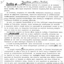 """""""Universitatea Radio"""". Ioan C. Filitti - Dezvoltarea politică a României (1933)"""