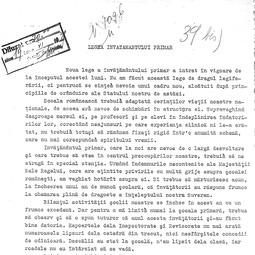 Petre Andrei  - Rolul educatorilor în lumina legii din 11 noiembrie 1938 (1939)