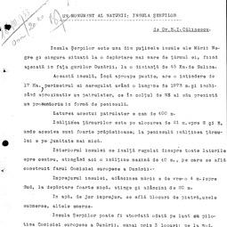 """""""Universitatea Radio"""". Raul I. Călinescu - Un monument al naturii: Insula Șerpilor (1933)"""