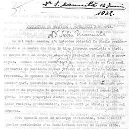 """""""Universitatea Radio"""". Sabin Manuilă - Tendințe de creștere ale populației românești (1932)"""