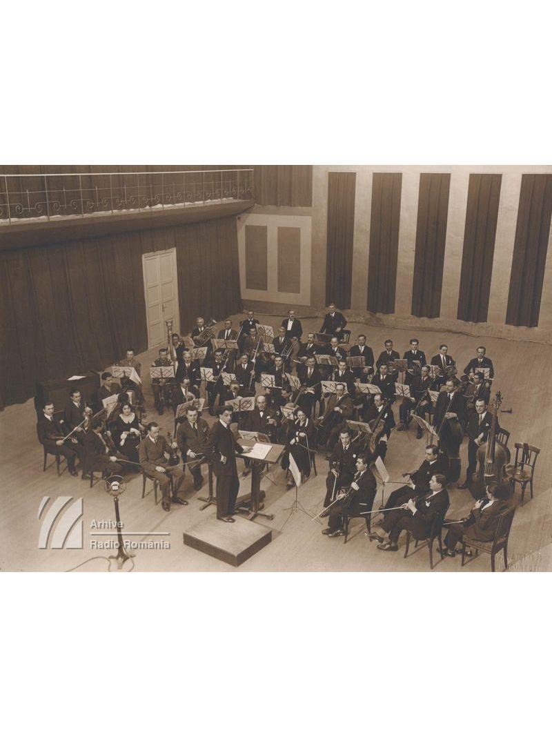 Orchestra radio în Studioul Mare (1930)