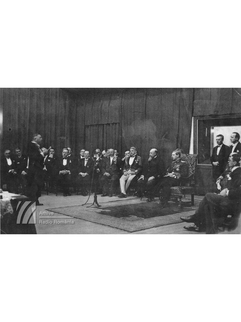 Inagurarea Studioului Mare, în prezența MS Carol II (1932)