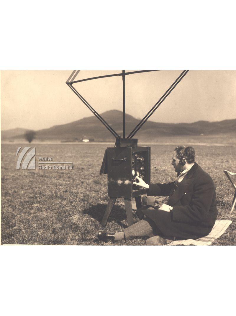 Măsurători de undă efectuate de ing. Mircea Georgescu la Postul de la Bod (1933)