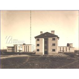 Postul de la Bod. Locuințele lucrătorilor și uzina (1936)