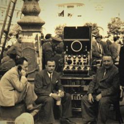 O transmisiune radio pe teren (1938)