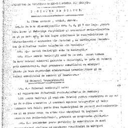 Proiectul de statut al Societății Române de Radiodifuziune (1926)