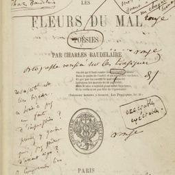 Charles Baudelaire (9 aprilie 1821-31 august 1867). <i>Flori alese din Les Fleurs du mal</i>