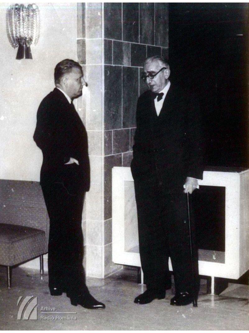 Mihail Jora și Ovidiu Varga