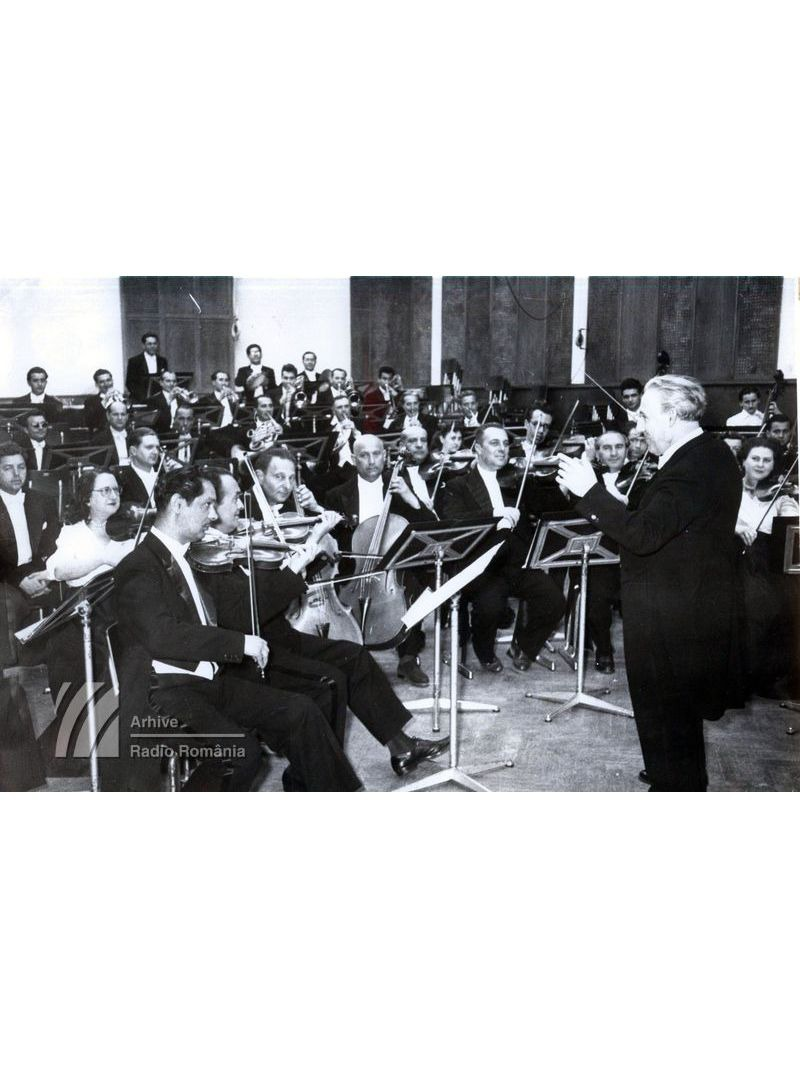Orchestra Radio, dirijor Constantin Bobescu