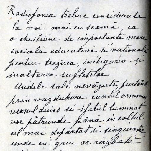 Manuscris radiofonic