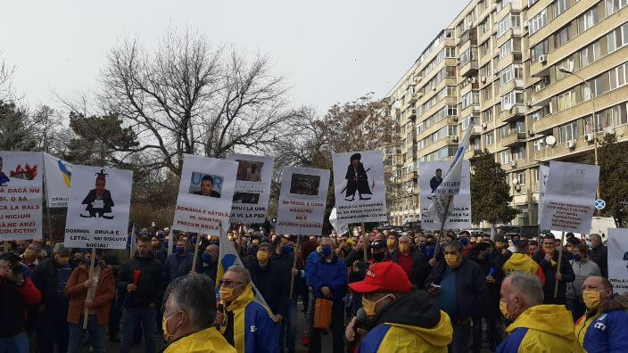 sindicalisti-de-la-metrorex-protest-la-ministerul-transporturilor