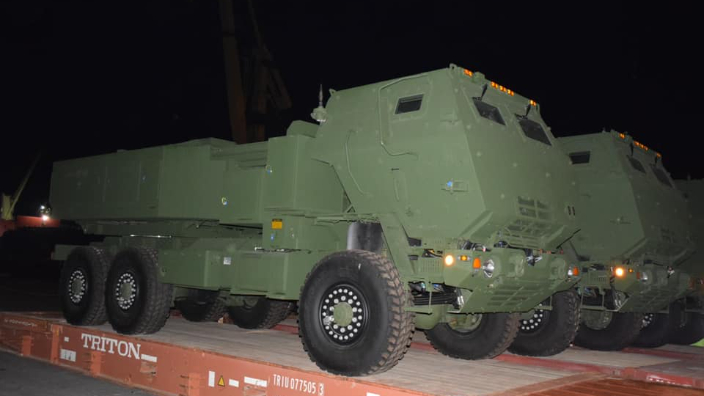 the-components-of-the-first-himars-missile-system-have-arrived-in-romania