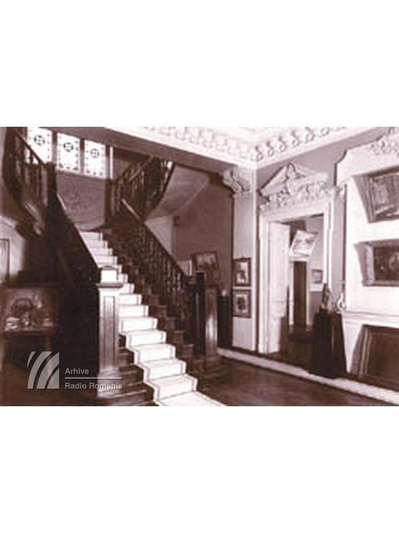 Interiorul primei clădiri a Radioului (1928-1944)