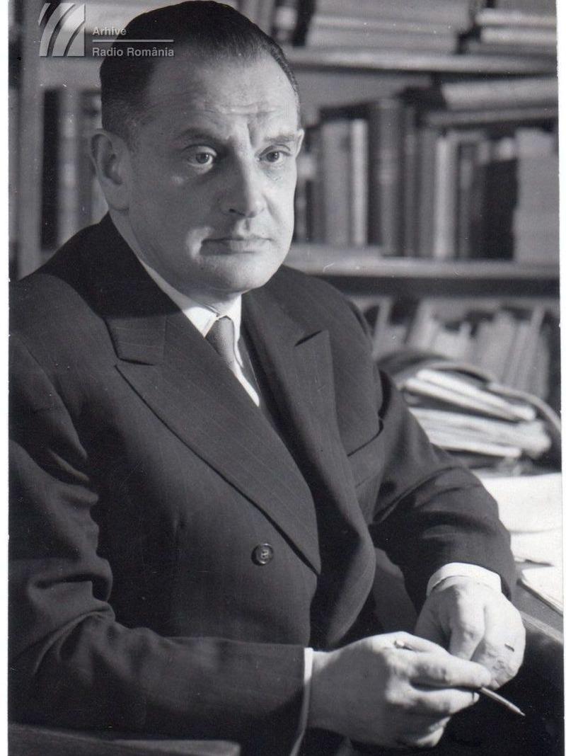 """""""Ediție radiofonică"""". Mihai Eminescu (I). Emisiune prefațată de Tudor Vianu"""