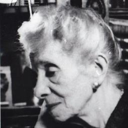 """""""Saeculum""""(1970). Medalion Alice Voinescu (10 februarie 1885-4 iunie 1961)"""
