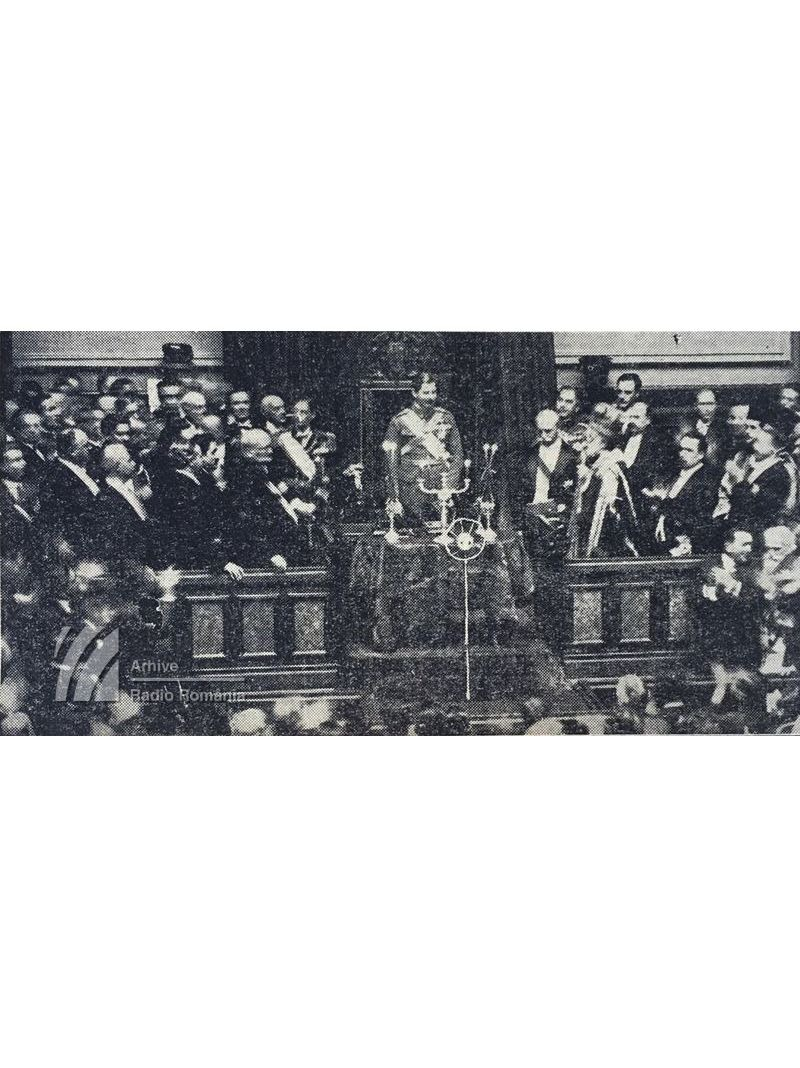 M.S. Regele Carol II, Către Parlamentul Român (1930)