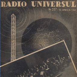 Radio Universul, 12 aprilie 1941, anul VIII, nr. 337