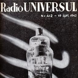 Radio Universul, 19 septembrie 1942, anul IX, nr. 412