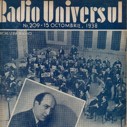 Radio Universul, 15 octombrie 1938, anul V, nr. 209