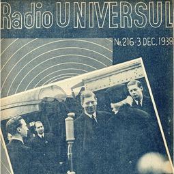 Radio Universul, 3 decembrie 1938, anul V, nr. 216