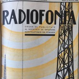 """Radiofonia"", 11 ianuarie 1929,  anul I, nr. 10"