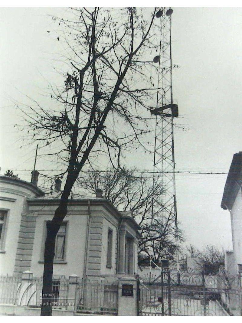 Clădirea postului Radio Moldova, de la Iași (1941)