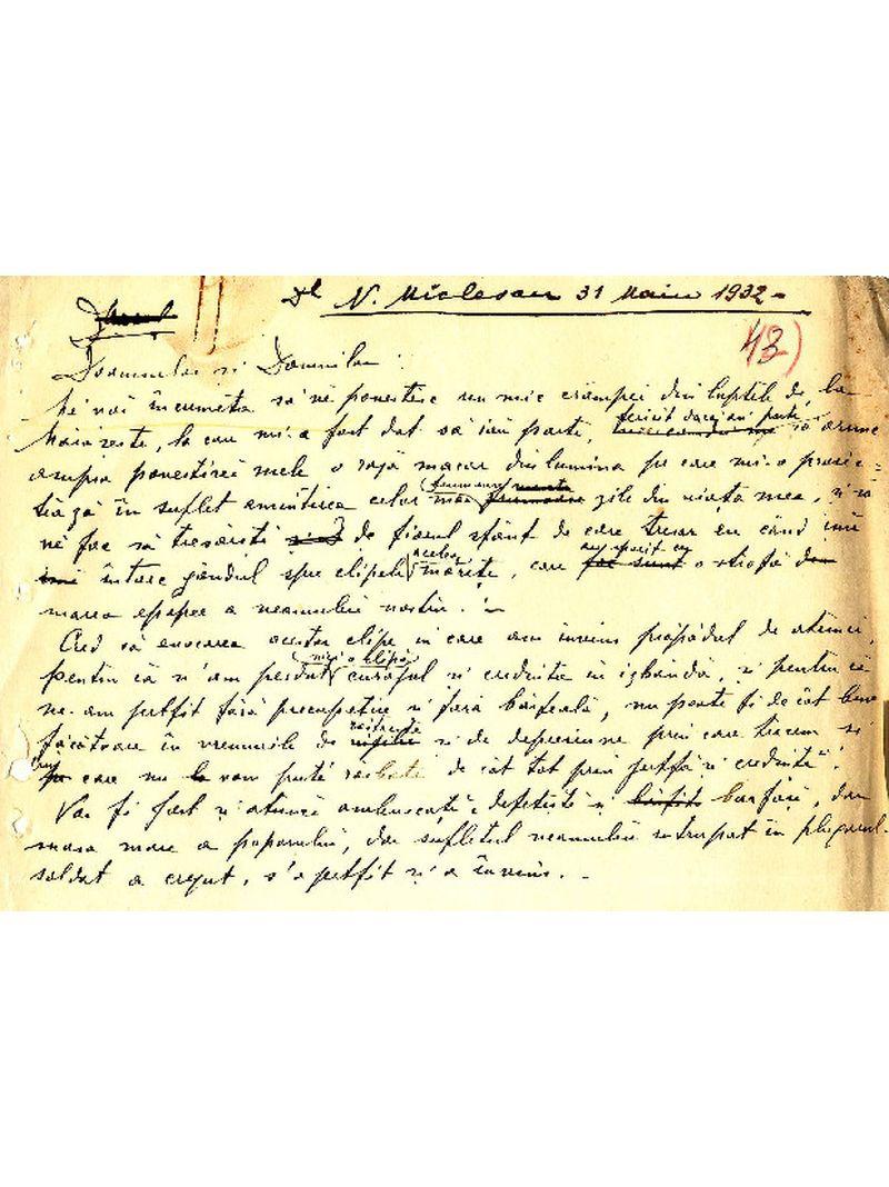 """""""Program de seară"""". Nicolae Miclescu - Amintiri din război.  [I. Despre luptele de la Mărăşeşti] (31 mai 1932)"""