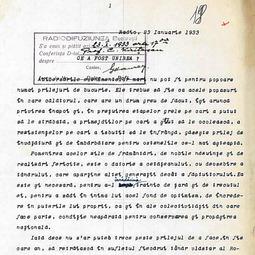 """""""Program pentru școlari"""". Constantin Kirițescu - Ce este Unirea (23 ian. 1933)"""