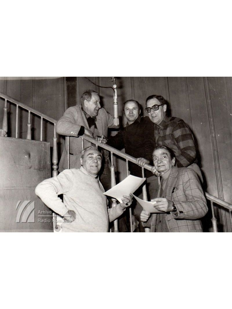 Radu Zaharescu, Horia Șerbănescu, Pavel Dan (redactor RTV), Mihai Fotino, Horia Căciulescu.