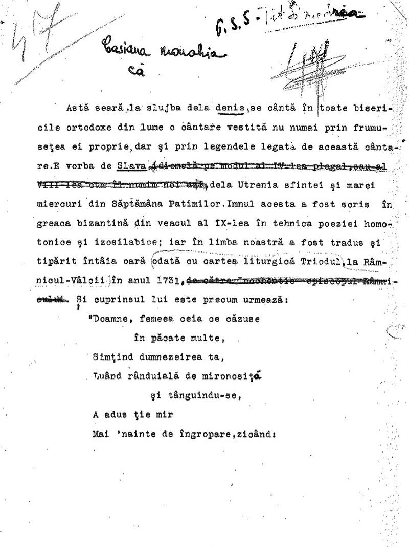 """Universitatea Radio"". Tit Simedrea  - Casiana Monahia (1934)"