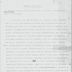 """""""Universitatea Radio"""". Nicolae Bagdasar -  Lucrări filosofice: I. Brucăr, Probleme noi în filozofie (1932)"""