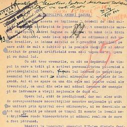 """""""Universitatea Radio"""". Dumitru Stăniloae - Mitropolitul Andrei Șaguna (1942)"""