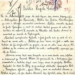 Vasile Radu - Biblia Regelui Carol al II-lea (1939)