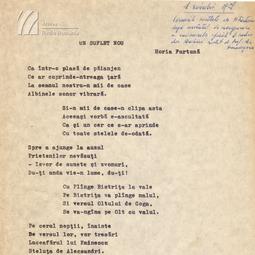 Horia Furtună - Suflet nou (1928)