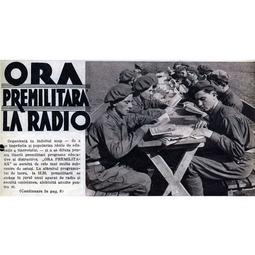 """""""Ora Premilitară"""" (1938)"""
