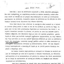 Gheorghe Brătianu - Zece Mai (1941)