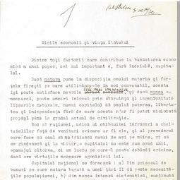 """""""Universitatea Radio"""". Victor Slăvescu - Micile economii și viața Statului (1934)"""