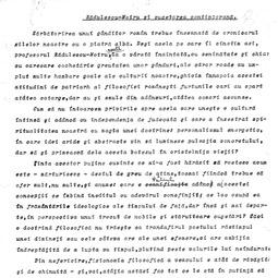 """""""Universitatea Radio"""". Mircea Florian - Rădulescu Motru și cugetarea contemporană (1932)"""