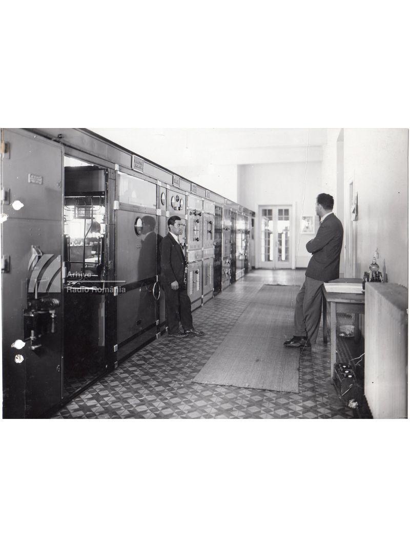Sala de mașini a postului de radio de la Băneasa