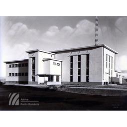 Clădirea principală a postului de la Bod