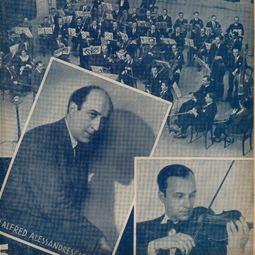 ALFRED ALESSANDRESCU - Amurg de toamnă, schiță pentru orchestră de coarde (1959)
